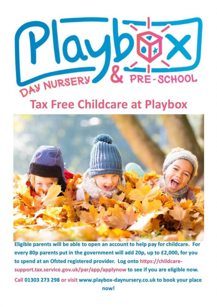 Tax Free Childcare At Playbox
